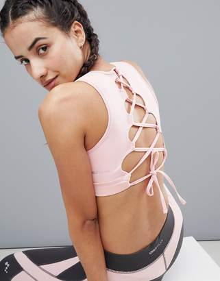 Only Play Lace Up Yoga Bra