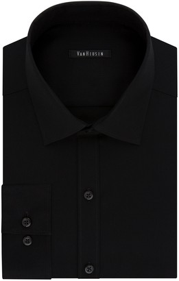 Van Heusen Men's Flex Collar Slim-Fit Pincord Dress Shirt