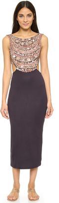 Mara Hoffman Scoop Back Midi Dress $262 thestylecure.com