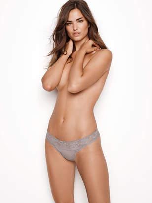Victoria's Secret Dream Angels Floral Lace Thong Panty