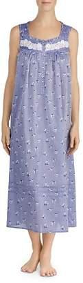 Eileen West Sleeveless Cotton Long Ballet Nightgown