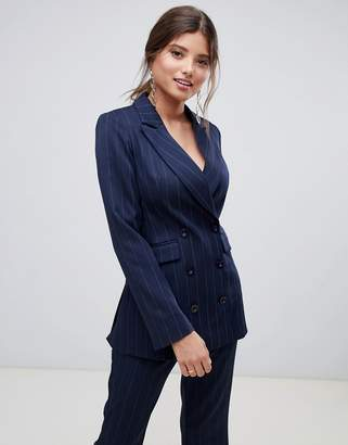 MACKINTOSH Millie pinstripe double breasted co-ord blazer