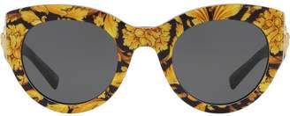 Versace Eyewear Tribute barocco print sunglasses