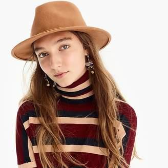 J.Crew Western hat with velvet band