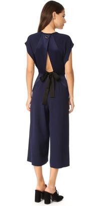 Whistles Jasmine Cutout Jumpsuit $420 thestylecure.com