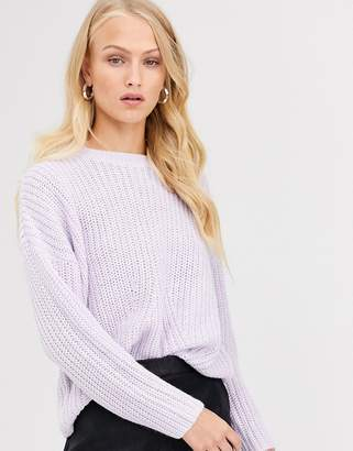 Only rib knitted jumper