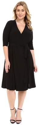 Kiyonna Essential Wrap Dress Women's Dress