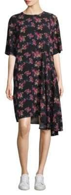 Public School Rima Asymmetrical Floral Dress