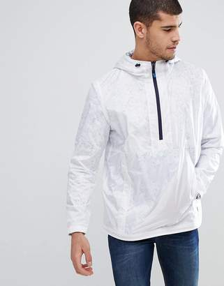 Paul Smith Overhead Half Zip Anorak In White