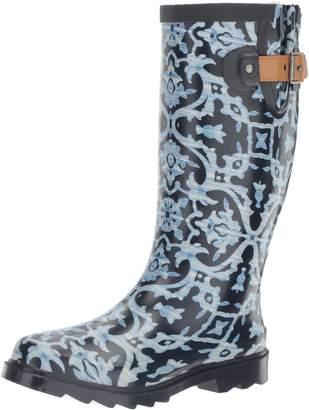 Chooka Women's Printed Tall Rain Boot