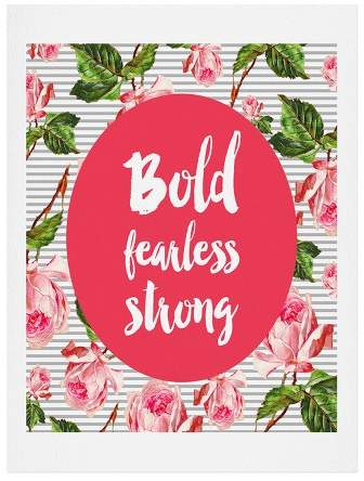Allyson Johnson Bold And Fearless Art Print 8
