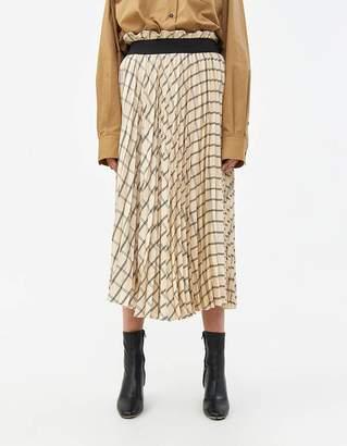 Rika Studios Bente Skirt in Ivory Check