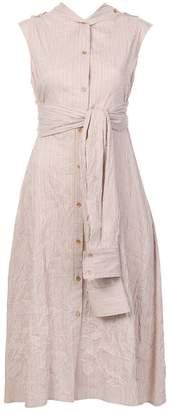 DAY Birger et Mikkelsen Sies Marjan sleeveless tie waist shirt dress
