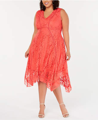 Plus Size Handkerchief Dress - ShopStyle
