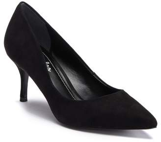 Charles David Angelica Suede Kitten Heel Pump