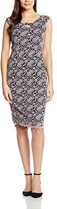 Gina Bacconi Women's Scallop Lace Off The Shoulder Dress