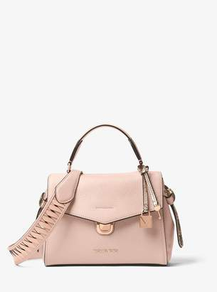 MICHAEL Michael Kors Woven Leather Shoulder Strap