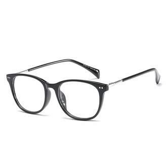 af2d5fa84d4 clear D.King Vintage Full Frame Horn Rimmed Eyeglasses Non-prescription  Lens Eye Glasses