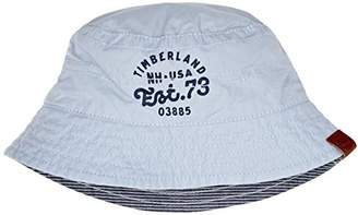 Timberland Baby Boys  Reversible Bucket Hat Pale Blue 63ccb765050c