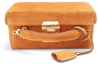 Mark Cross Grace Small Suede Box Bag - Womens - Tan
