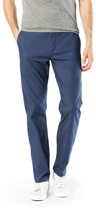 Dockers Washed Khaki Slim Fit Flat Front Pants