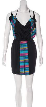 Mara Hoffman Geometric Print Mini Dress