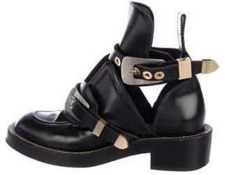 Balenciaga Ceinture Leather Boots