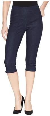 NYDJ Pull-On Skinny Capris in Rinse Women's Jeans