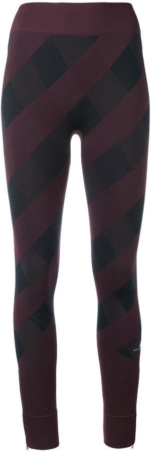 adidas by Stella McCartney checkerboard leggings