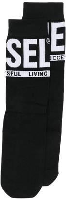 Diesel logo socks