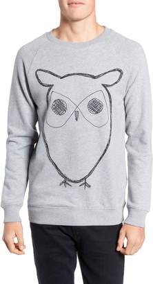 Knowledge Cotton Apparel KnowledgeCotton Apparel Big Owl Sweatshirt