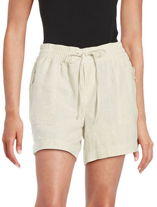 Lord & Taylor Linen Shorts $68 thestylecure.com