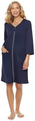 Croft & Barrow Petite Quilted Duster Robe