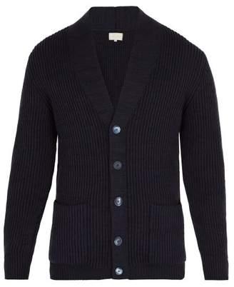 Arjé - Formentera Wool Blend Cardigan - Mens - Navy