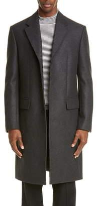 Maison Margiela Wool Blend Double Cloth Topcoat