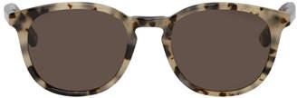 McQ White and Tortoiseshell Square Sunglasses