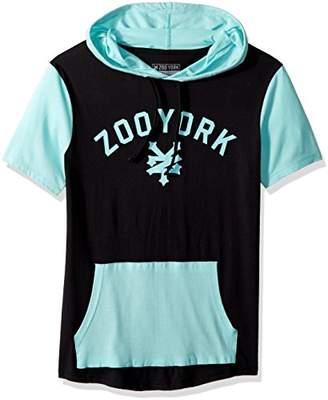 Zoo York Men's Short Sleeve Hoodie