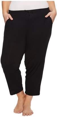 Donna Karan Plus Size Modal Spandex Jersey Capri Pants Women's Pajama