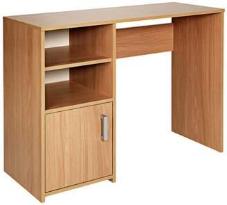 Argos Home Lawson Office Desk - Oak Effect