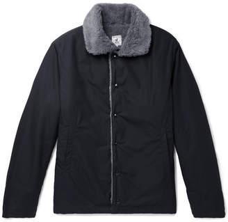 Arpenteur Quart Faux Fur-Lined Cotton Jacket