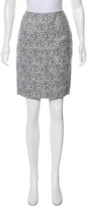 Calvin Klein Tweed Knee-Length Skirt