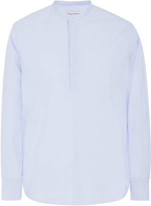 Officine Generale Alfred Collarless Cotton-Poplin Shirt