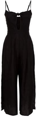 Seafolly Linen Tie-Front Jumpsuit