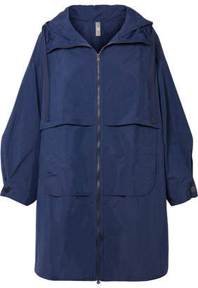 adidas by Stella McCartney Oversized Shell Hooded Parka - Indigo