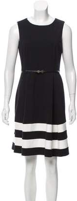 Calvin Klein A-Line Belted Dress w/ Tags