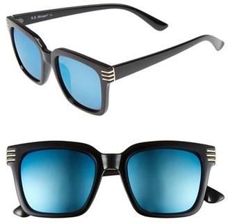 A.J. Morgan 'Crux' 50mm Sunglasses $24 thestylecure.com