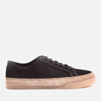 Clarks Women's Hidi Holly Leather Cupsole Trainers