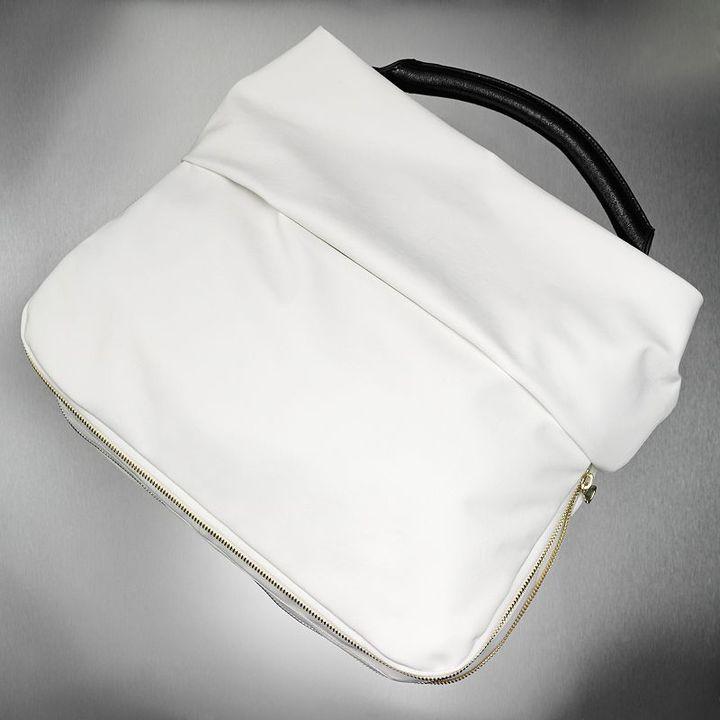 Simply vera vera wang zipper-luxe hobo