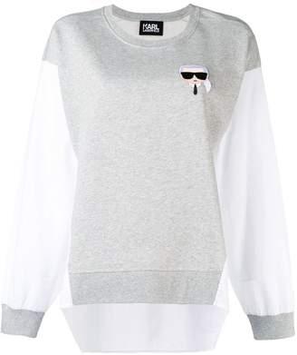 Karl Lagerfeld Ikonik sweatshirt