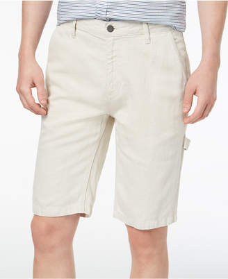 Calvin Klein Jeans Men's Linen Blend Carpenter Shorts